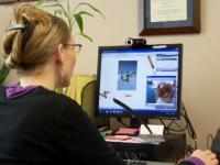 Jessie Wilbur provides telepractice services.